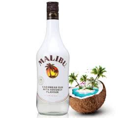 21°西班牙原装进口洋酒 Malibu 马利宝椰子朗姆酒700ml