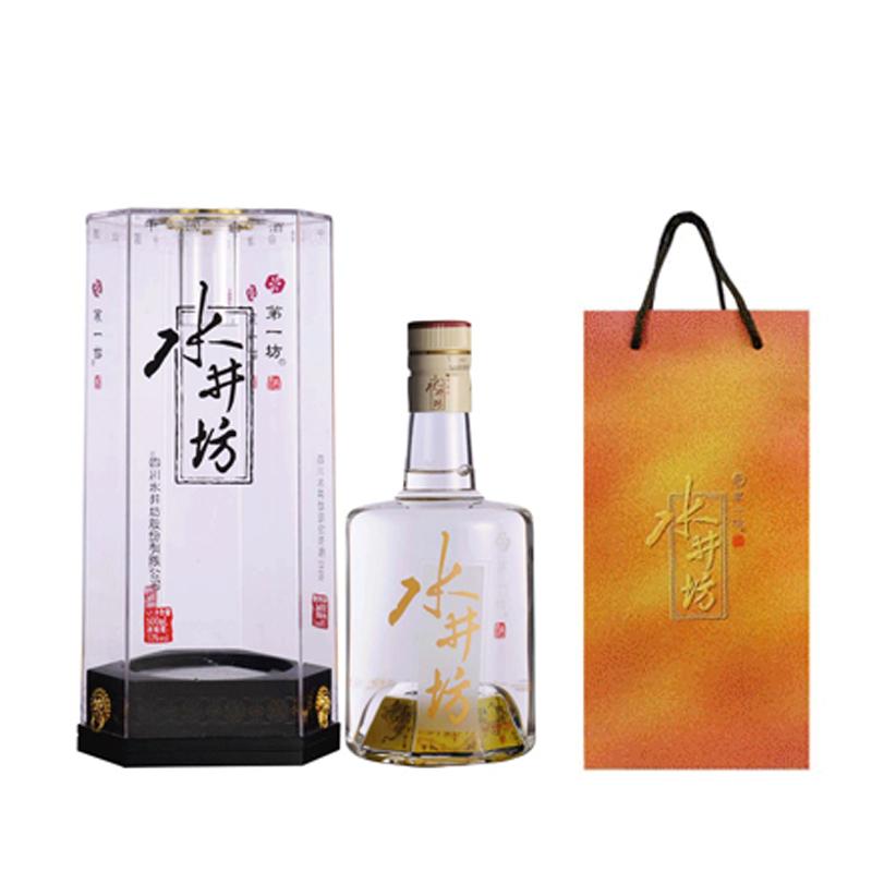 【老酒】53°水晶水井坊500ml(2012年)