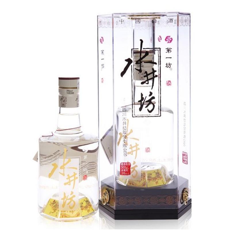 【老酒】39°水晶水井坊500ml(2009年)
