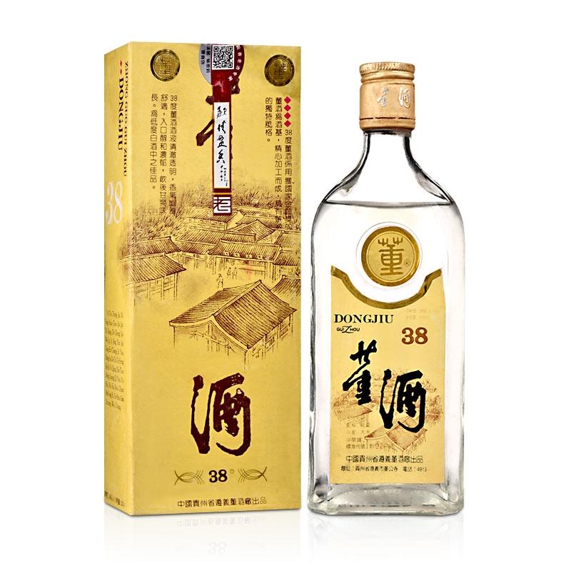 【歌德老酒特卖】38°董酒黄标500ml(90年代早期)老酒