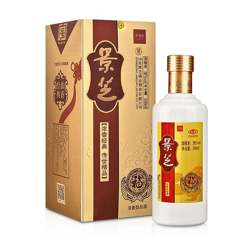 【清仓】38°景芝福酒500ml