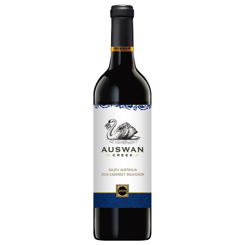 澳大利亚天鹅庄208赤霞珠干红葡萄酒750ml