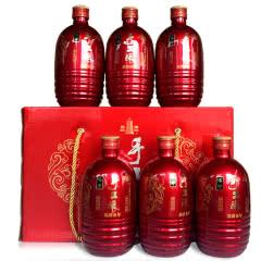 绍兴黄酒花雕酒塔牌手工酿基酒八年陈黄酒480*6瓶礼盒送酒具
