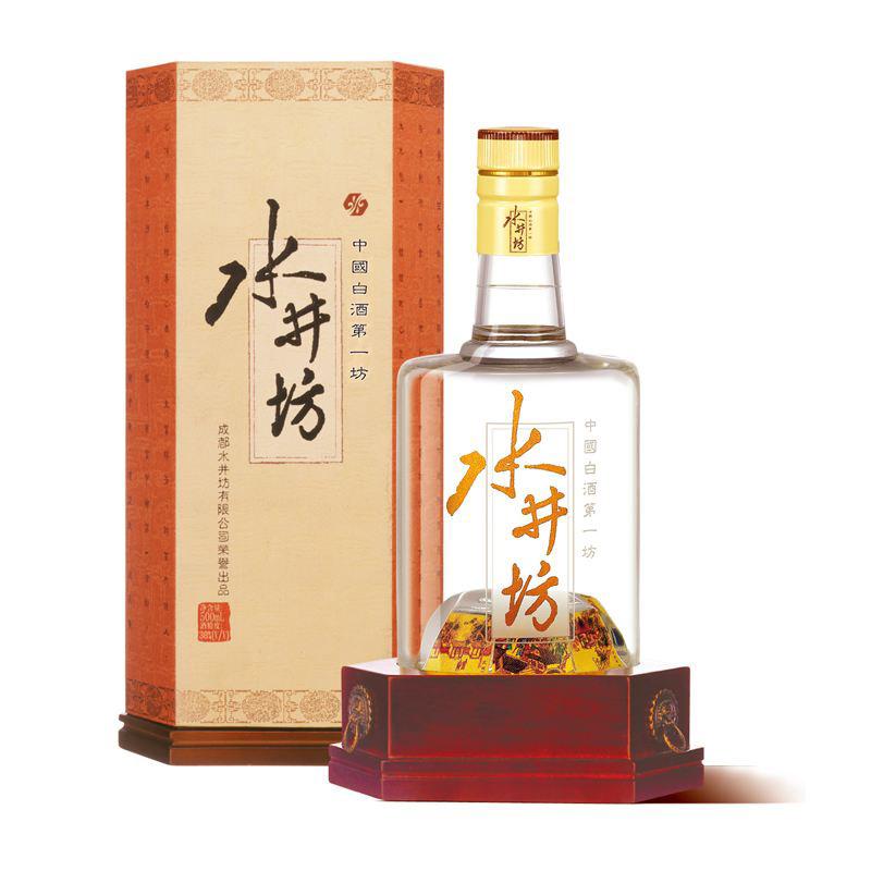 【老酒】38°井台水井坊 500ml(2007年)