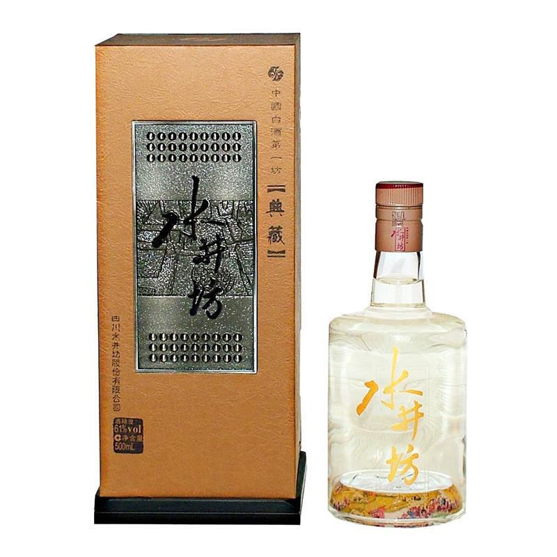 【老酒】水井坊  61°典藏500ml(2009年)