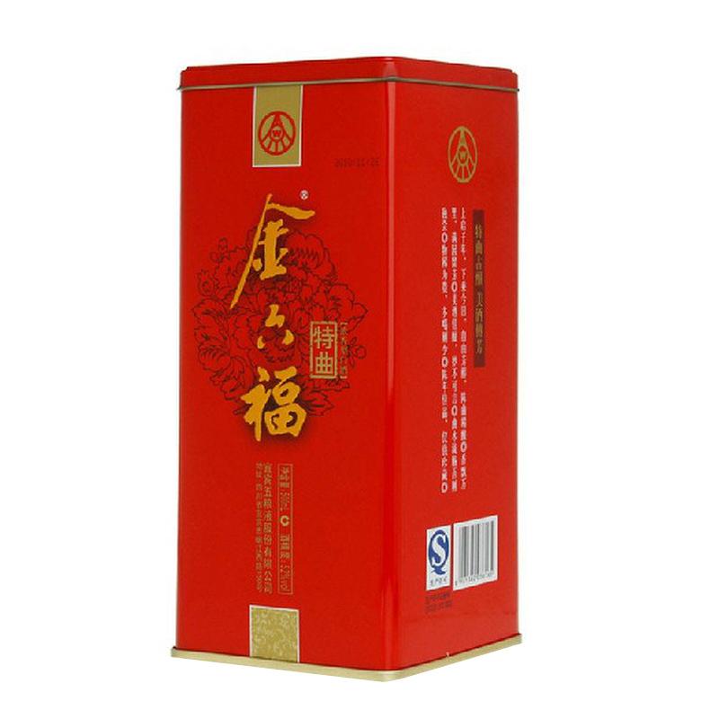 【老酒】金六福  38°红标特曲500ml(2010年)