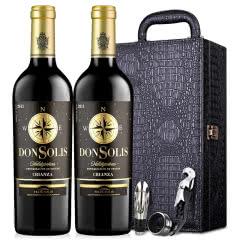 醉梦红酒西班牙原瓶进口DO级红酒梦诺唐索佳酿干红葡萄酒双支皮盒