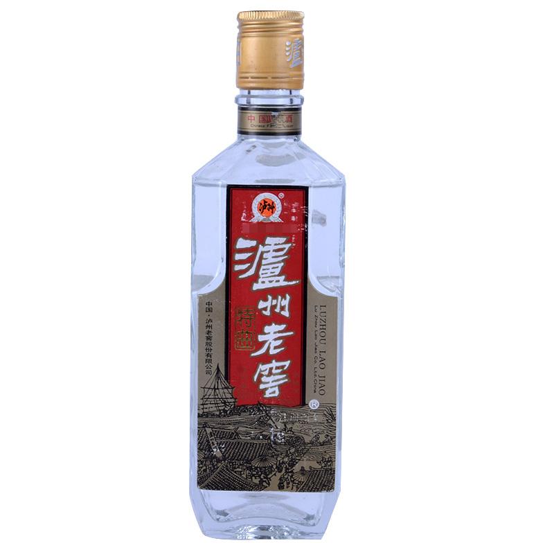【老酒特卖】52°泸州老窖特曲500ml(90年代)收藏老酒