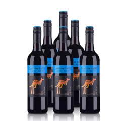 澳大利亚黄尾袋鼠加本力梅洛红葡萄酒750ml(6支装)