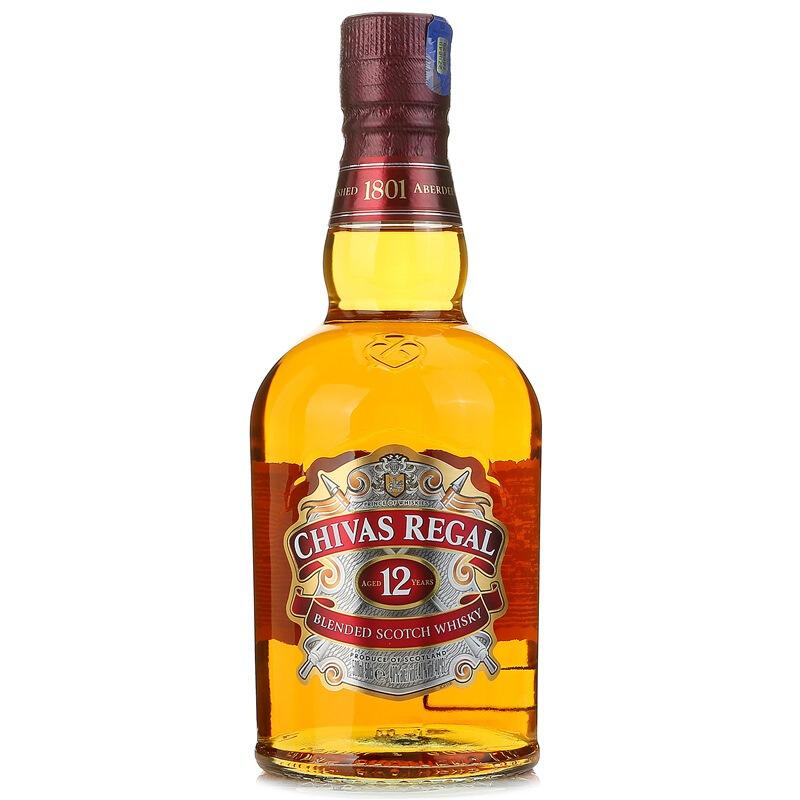 40°英国芝华士(Chivas)12年苏格兰威士忌进口洋酒500ml