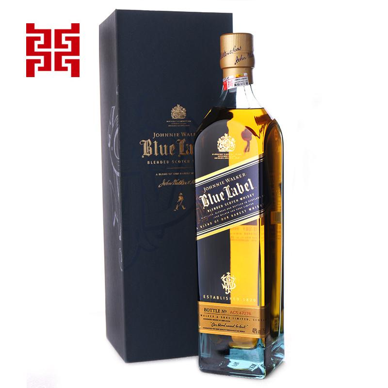 尊尼获加蓝牌调配性威士忌750ml
