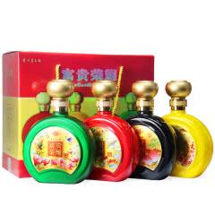 52°贵州茅台镇 富贵荣耀  浓香型礼盒白酒 500ml*4 送礼酒