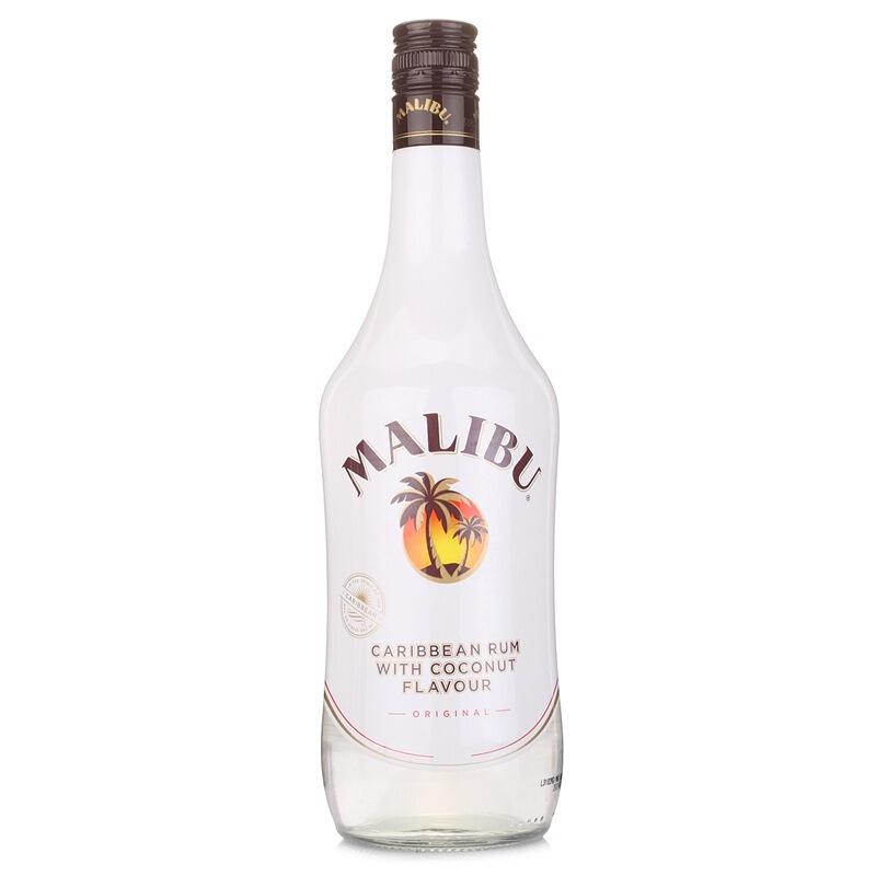 21°西班牙马利宝(Malibu)加勒比椰子朗姆配制酒进口洋酒鸡尾酒基酒700ml