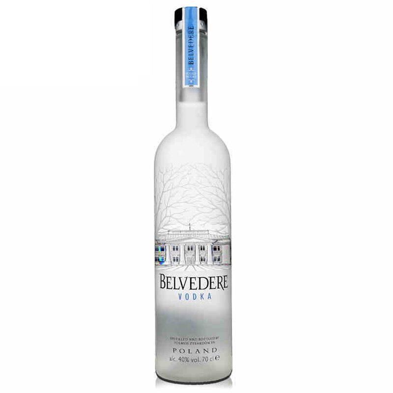 40°波兰BELVEDERE VODKA雪树伏特加原味进口洋酒700ml