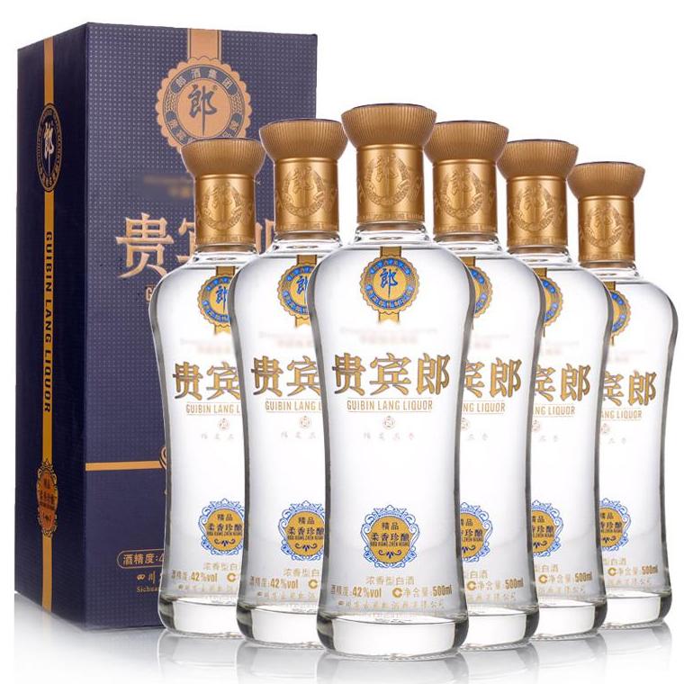 42°精品柔香珍酿贵宾郎500ml(6瓶装)