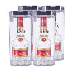 39°五粮液普五水晶盒500ml(4瓶装)(2004年-2007年)垂直套