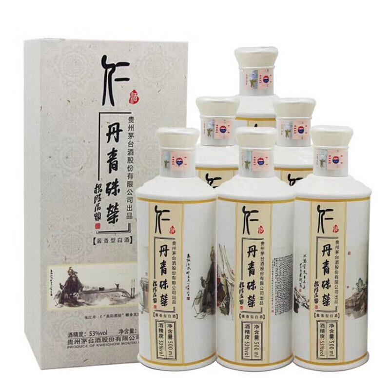 53°贵州茅台酒仁酒茅台丹青殊荣500ml(6瓶装)