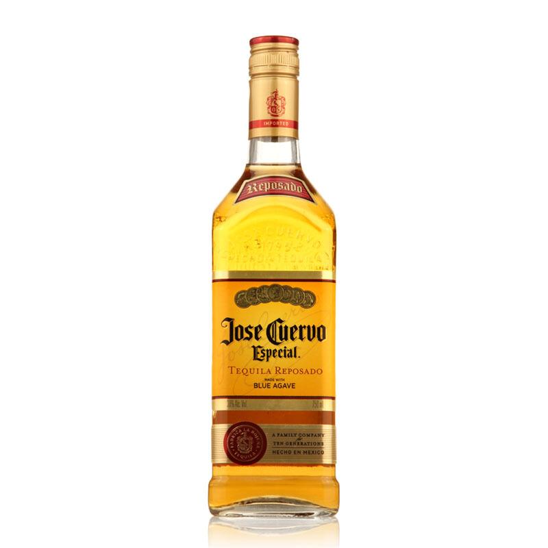 40°墨西哥豪帅快活(Jose Cuervo)特醇金标龙舌兰酒 进口洋酒鸡尾酒750ml