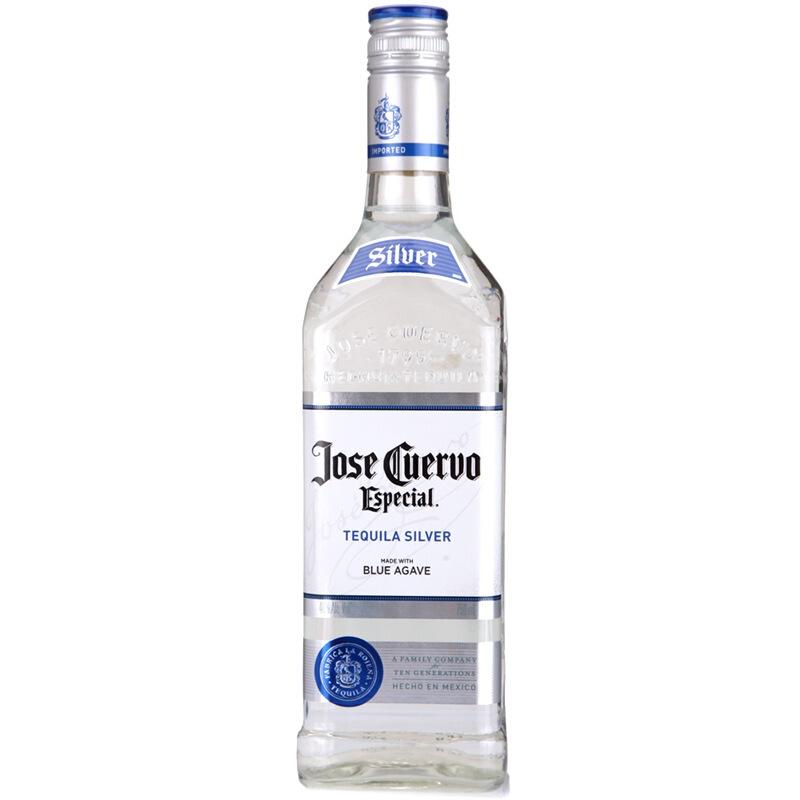 40°墨西哥豪帅快活(Jose Cuervo)特醇银标龙舌兰酒 进口洋酒鸡尾酒750ml