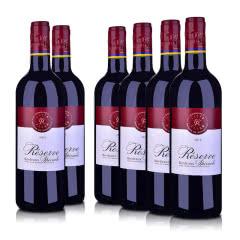 法国拉菲红酒整箱进口Lafite珍藏波尔多AOC干红葡萄酒750ML*6ASC