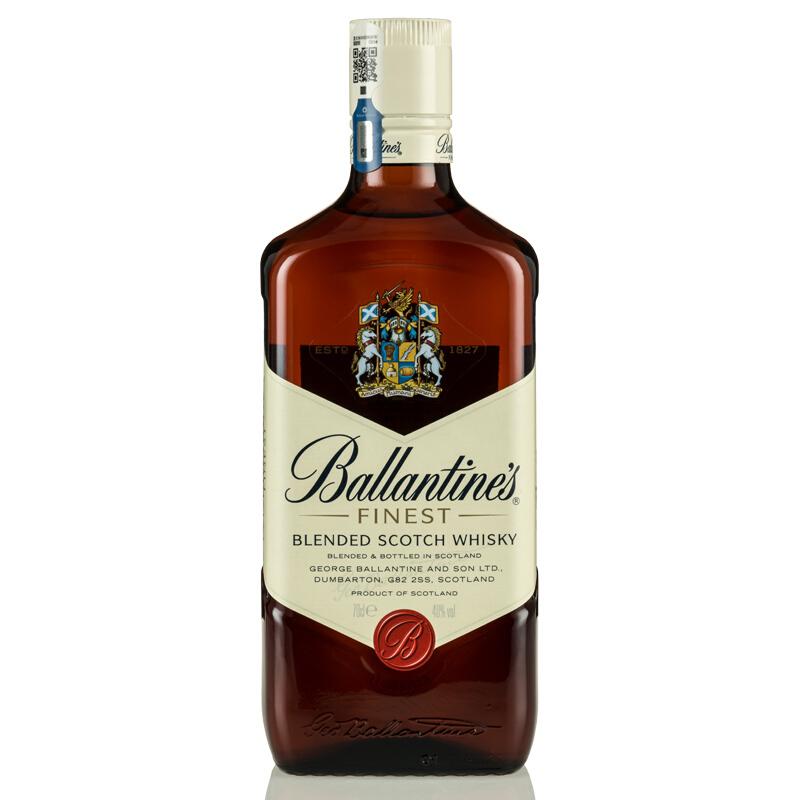 40°英国百龄坛(Ballantine's)特醇苏格兰威士忌进口洋酒烈酒700ml