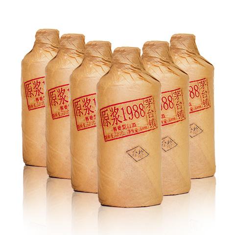 53°李贵人原浆1988酒500ml(6瓶装)