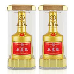 52°五粮液股份五星级土豪金版500ml(2瓶装)