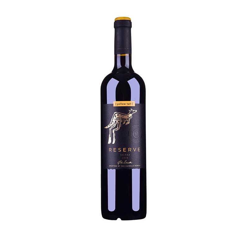 澳大利亚黄尾袋鼠签名版珍藏西拉葡萄酒750ml