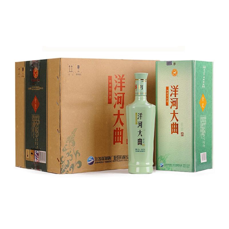 38度洋河大曲青瓷 洋河大曲500ml*1l箱6瓶