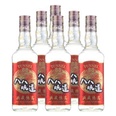 53°台湾八八坑道窖藏高粱酒 典藏陈高600ml*6