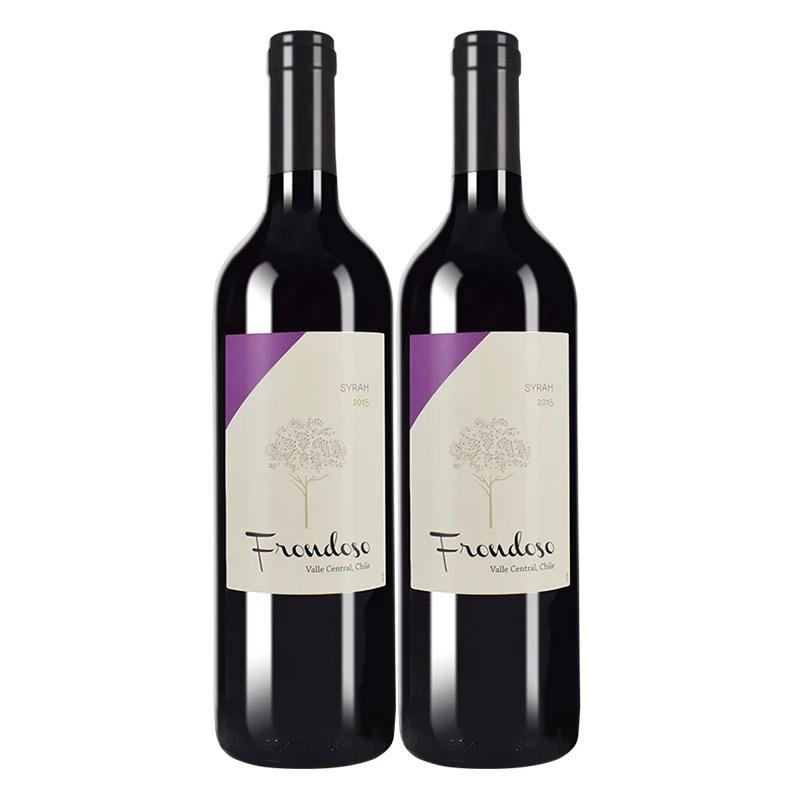 【买一支的两支】智利原瓶进口红酒弗朗西拉干红葡萄酒单支正品