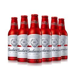 百威啤酒铝瓶355ml(6瓶装)