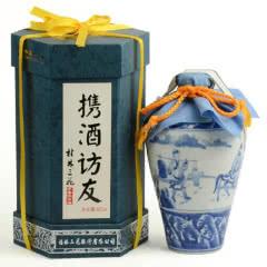 55°桂林三花酒携酒访友青花瓷原浆酒米香型白酒500ML