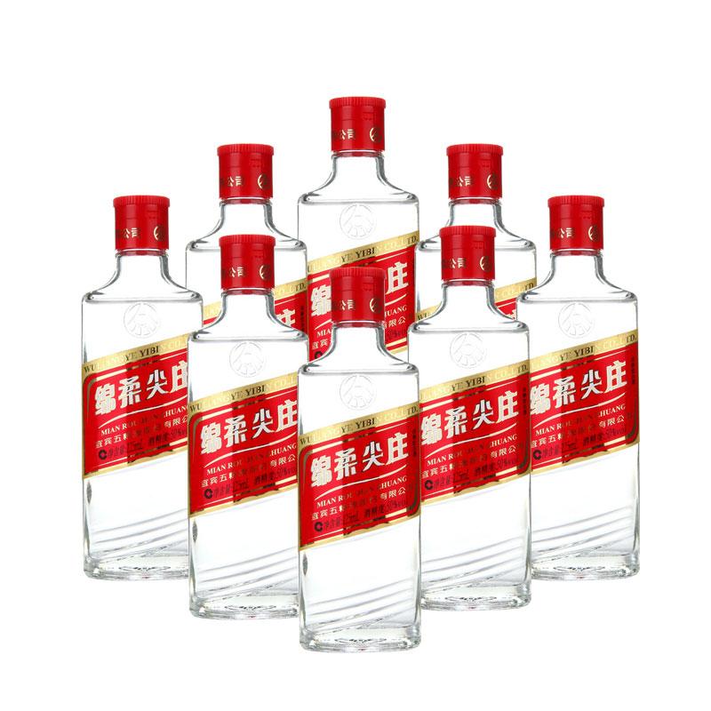 50°五粮液绵柔尖庄(2013年)125ml (8瓶装)
