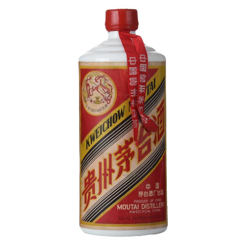 53°贵州茅台酒(大飞天)(80年代)540ML老酒收藏酒