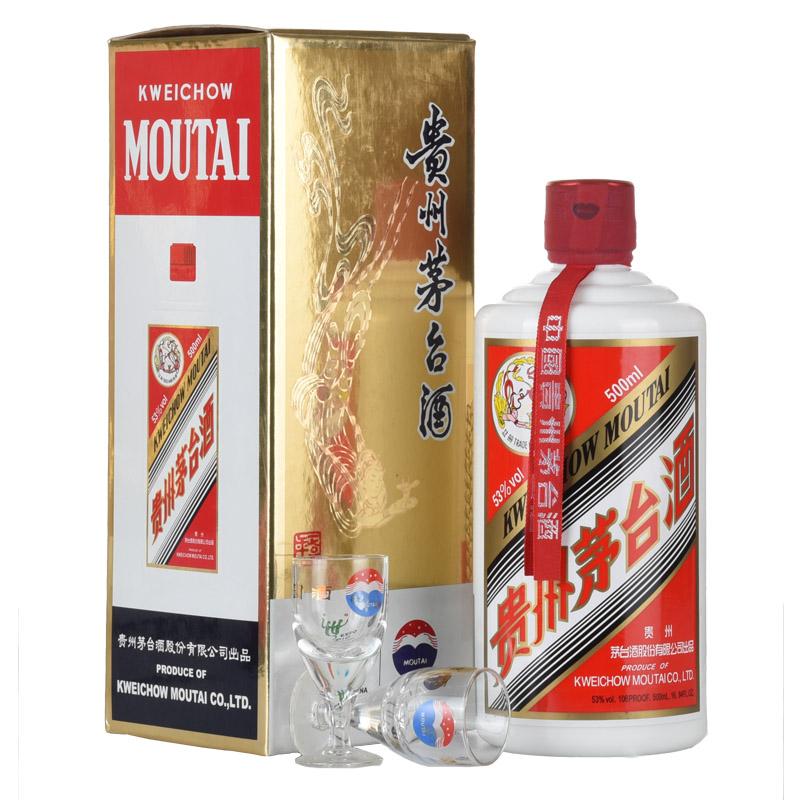 53°贵州茅台酒飞天/五星(2010年)500ml老酒收藏酒