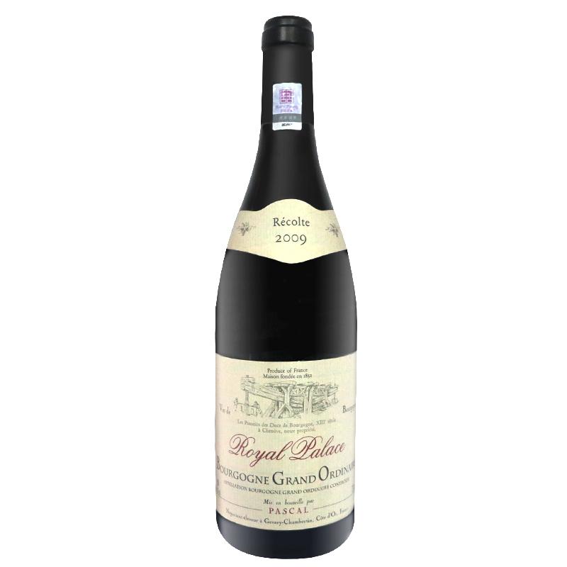 法国皇家勃艮第干红葡萄酒 750ml