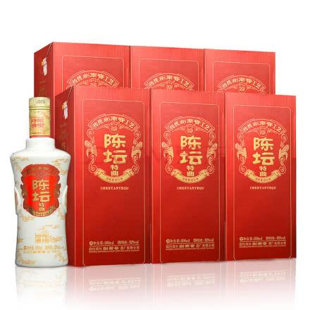 52°剑南春 陈坛特曲500ml整箱(6瓶装)