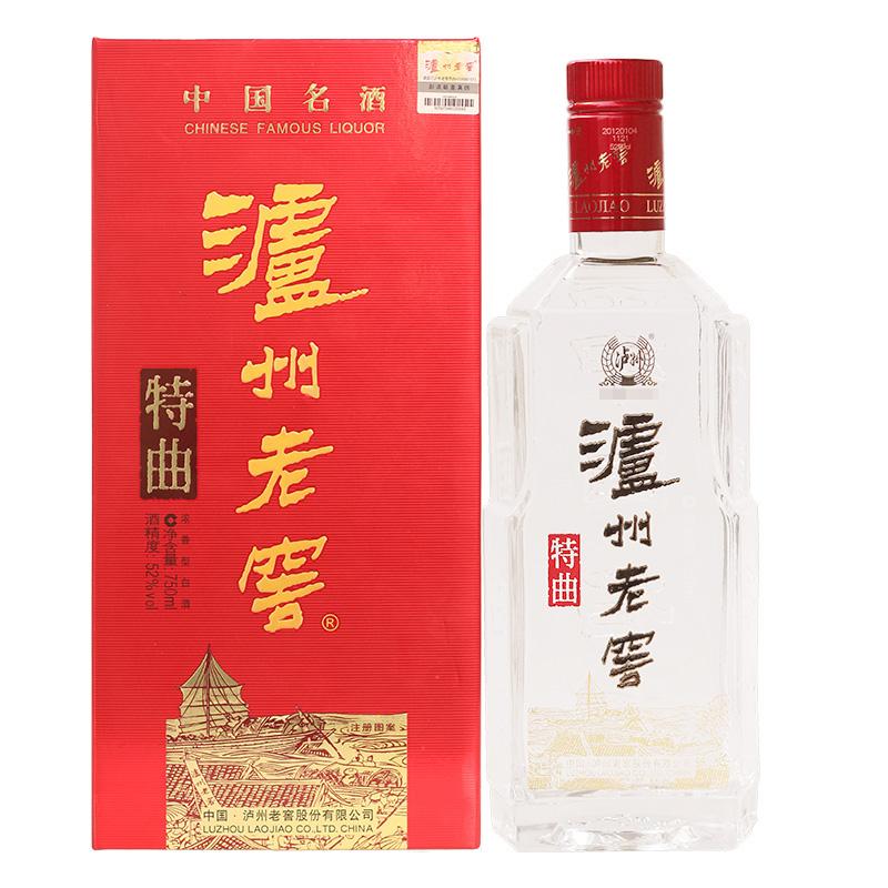 52°泸州老窖特曲(中国名酒60周年纪念)(2012年)750ml