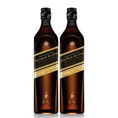 40°英国尊尼获加黑方(醇黑)威士忌700ml(双支装)