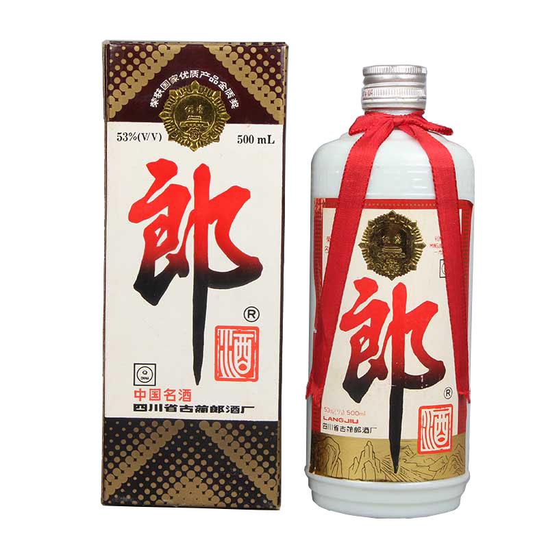 【酒逢知己】53°郎酒500ml(1995-1996年随机发货)
