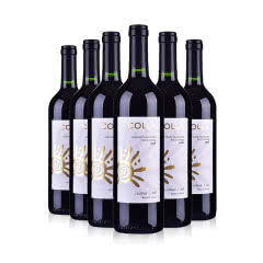 智利珂拉精选赤霞珠葡萄酒750ml(6瓶套)