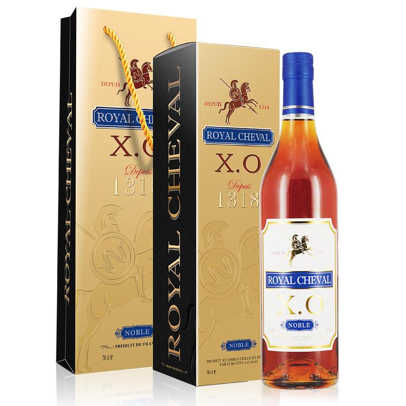 40°法国(原瓶进口)皇马名仕XO洋酒白兰地700ml*1瓶