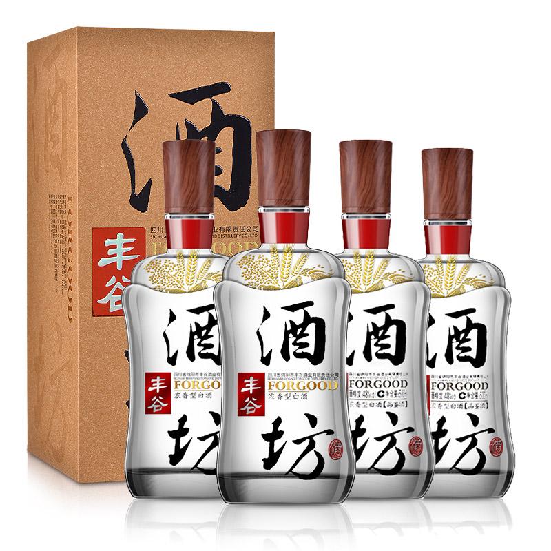 48°丰谷酒坊500ml(双瓶装)+48°丰谷酒坊(品鉴酒)500ml(双瓶装)