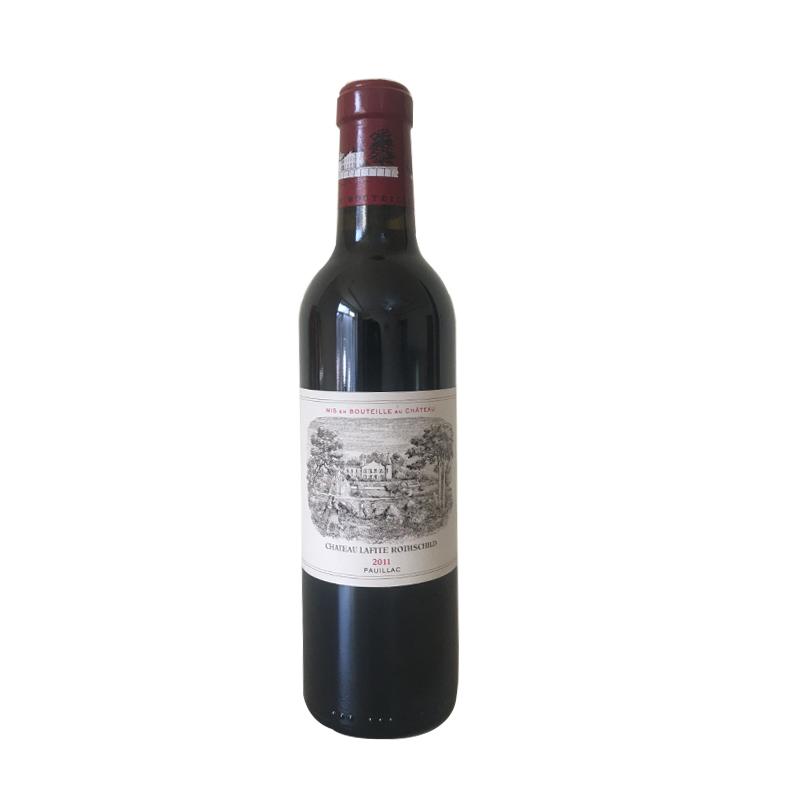 (列级庄·名庄·正牌)法国拉菲酒庄2011干红葡萄酒375ml(又译大拉菲、拉菲城堡)