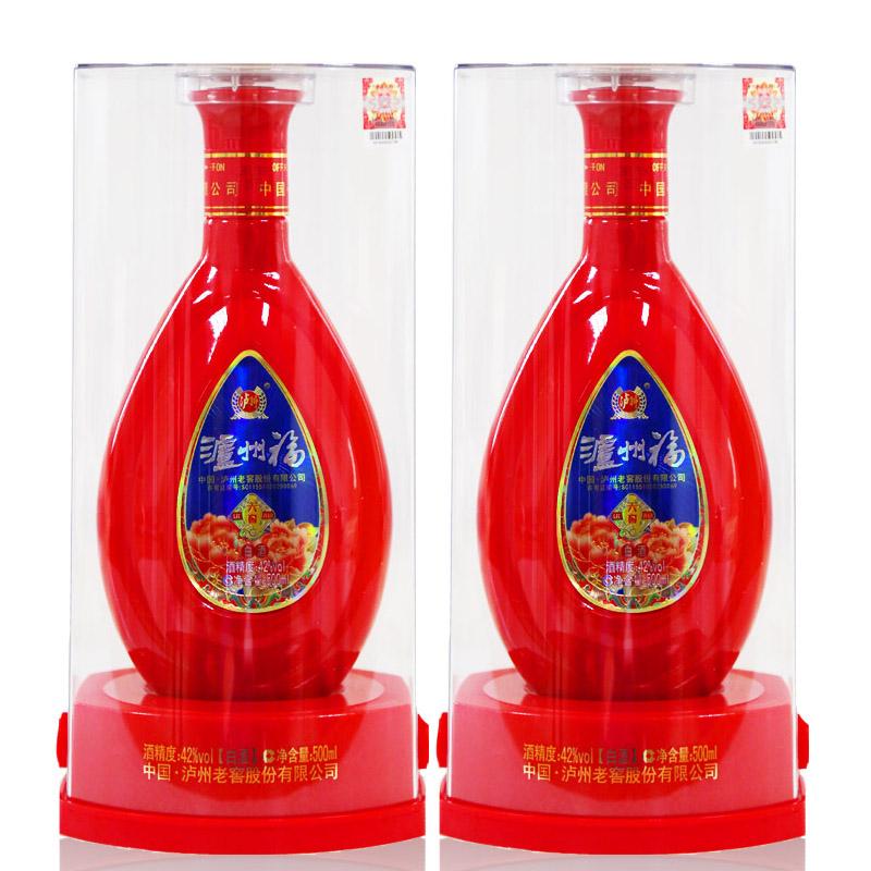 42°泸州福六窖500ml*2瓶