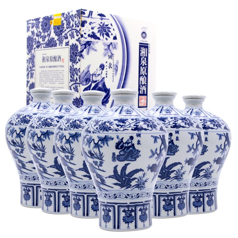 52°酒鬼酒.湘泉原酿酒(6瓶装)750ml(2014年)