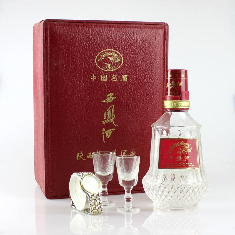1998年55°礼盒装水晶西凤酒凤香型500ml