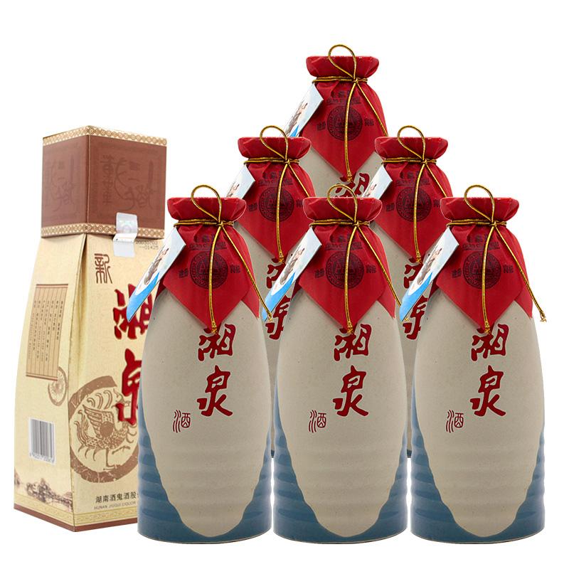 54°酒鬼酒·新湘泉酒500ml×6瓶/箱装(2003年)