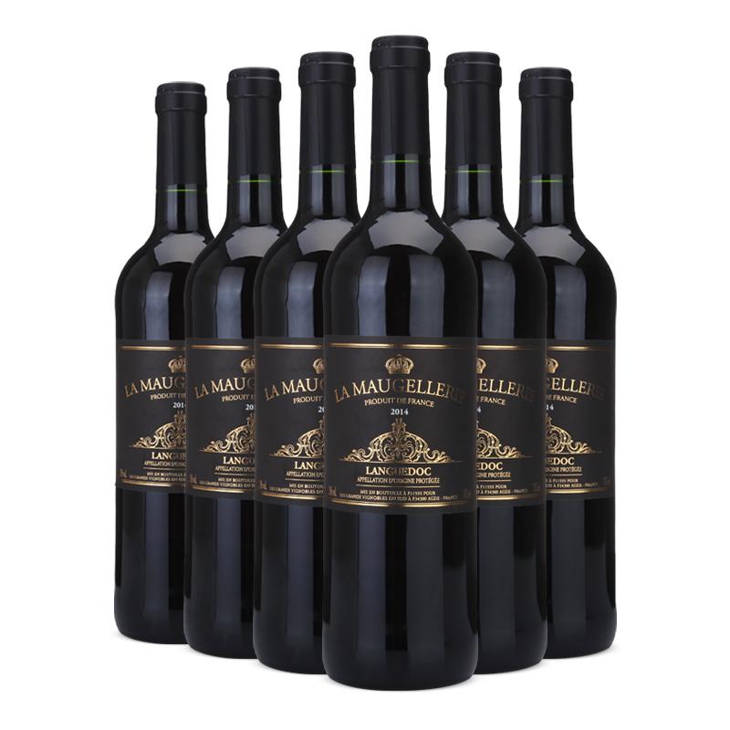 法国原瓶进口AOC红酒 玛歌雷特AOP干红葡萄酒750ml*6 整箱装